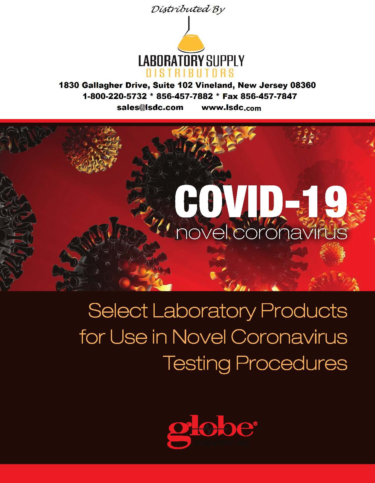 COVID-19 Lab Products eCatalog