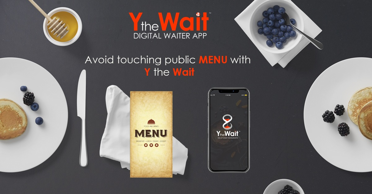 Digital Waiter, No more Paper Menus, Kiosks