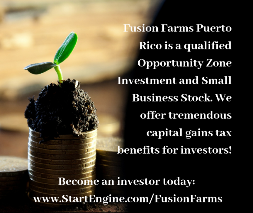 Invest in Fusion Farms Hurricane Protected Farm