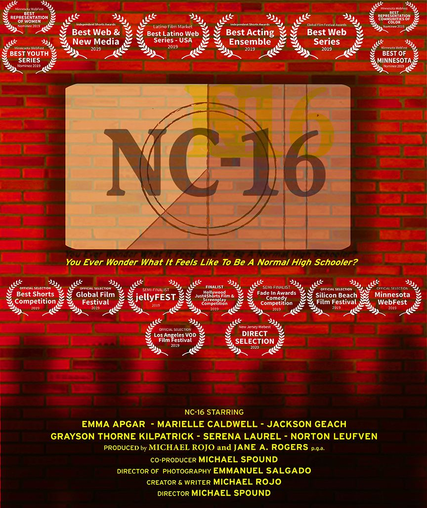 NC-16 is a teenage web series available on SeekTV.