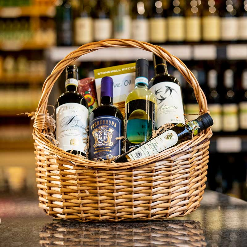 Themed Wine, Beer Or Spirits Baskets
