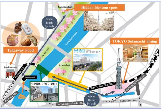 What to See Near Sumida Pedestrian Bridge